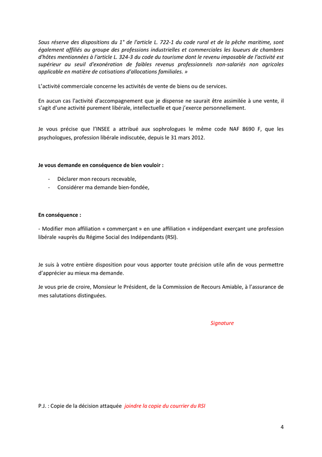 RSI AFFILIATION TÉLÉCHARGER ATTESTATION