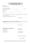 Demande d'autorisation d'absence